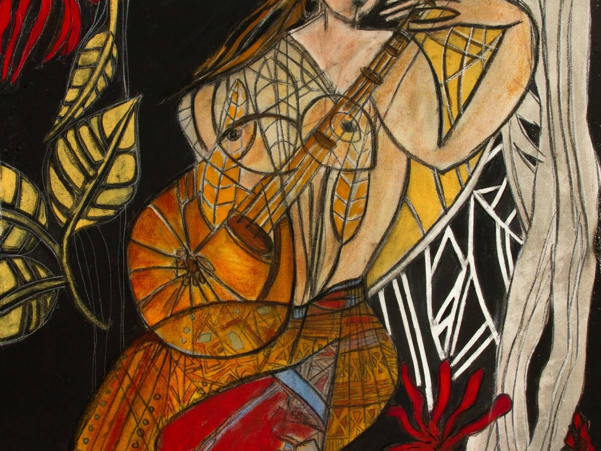 La Musicienne - Sylvia Dilore